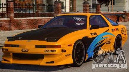 1992 Toyota Supra 3.0 Turbo PJ4 для GTA 4