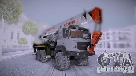 Ural M Автокран УралСпецТранс для GTA San Andreas