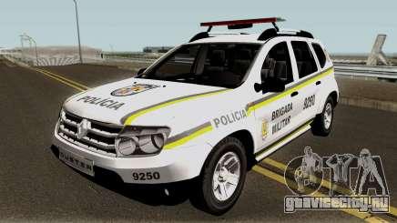 Renault Duster Policia для GTA San Andreas