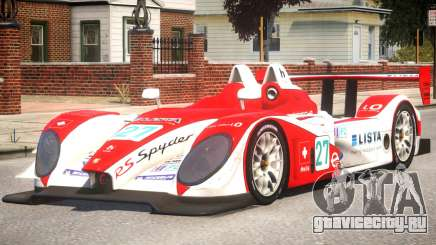Porsche RS Spyder PJ3 для GTA 4