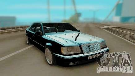 Mercedes-Benz W124 E500 Black для GTA San Andreas