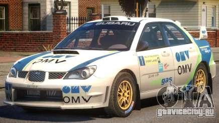 Subaru Impreza WRX STi PJ3 для GTA 4