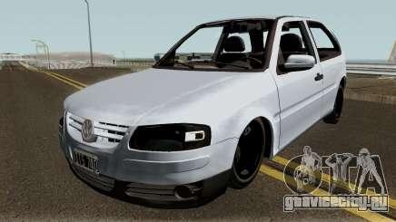 Volkswagen Gol G4 Grey для GTA San Andreas