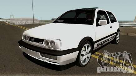 Volkswagen Golf 3 ABT VR6 Turbo Syncro для GTA San Andreas