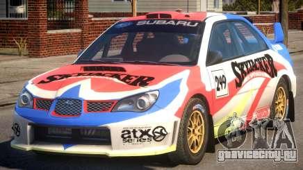 Subaru Impreza WRX STi PJ4 для GTA 4