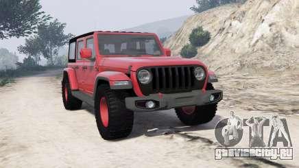 Jeep Wrangler Unlimited Rubicon 2018 [add-on] для GTA 5