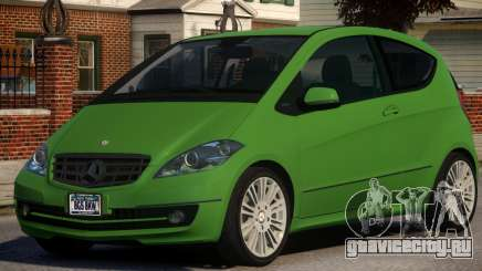 Mercedes Benz A 200 Turbo V1.3 для GTA 4