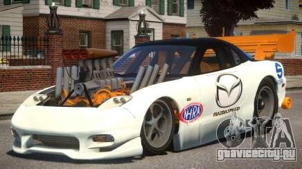 Mazda RX7 Dragster PJ для GTA 4