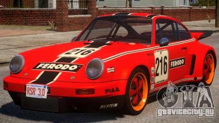 1974 Porsche 911 PJ3 для GTA 4
