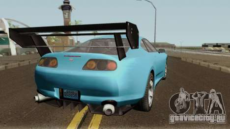 Dinka Jester Classic or F&F GTA V для GTA San Andreas вид справа