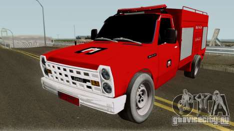 Nissan 1998 Firetruck для GTA San Andreas