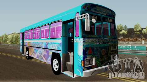 Monara Patikki для GTA San Andreas вид изнутри