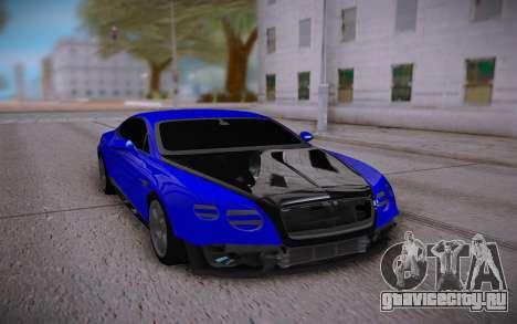 Bentley Continental Sport для GTA San Andreas