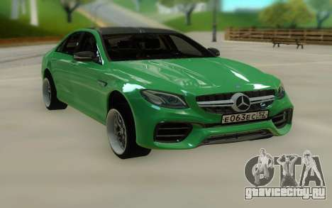 Mercedes-Benz E63 W213 Stock для GTA San Andreas