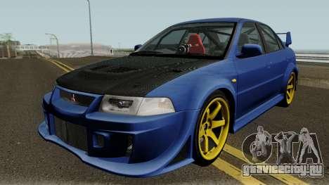 Mitsubishi Evolution VI Edited для GTA San Andreas