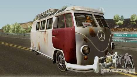 Volkswagen Kombi для GTA San Andreas