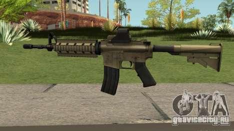 M4A1 TAN для GTA San Andreas
