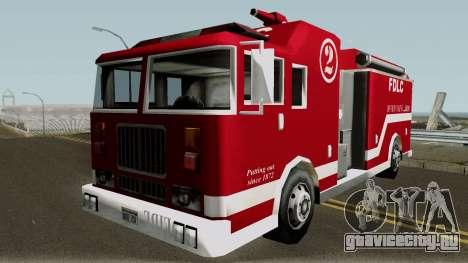 New Firetruck для GTA San Andreas