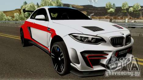 BMW M2 Special Edition From Asphalt 8: Airbone для GTA San Andreas вид изнутри