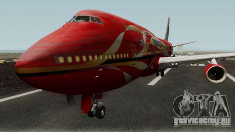 Boeing 747-400 Malaysia Airlines Hibiscus Livery для GTA San Andreas