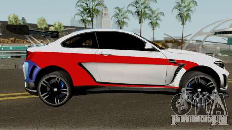 BMW M2 Special Edition From Asphalt 8: Airbone для GTA San Andreas вид сзади