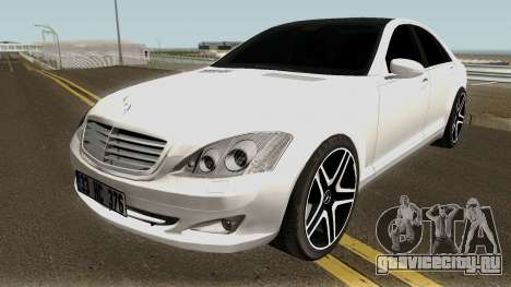Mercedes Benz S420 Limousine Turkish для GTA San Andreas