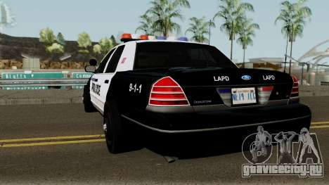Ford Crown Victoria Police 2003 для GTA San Andreas