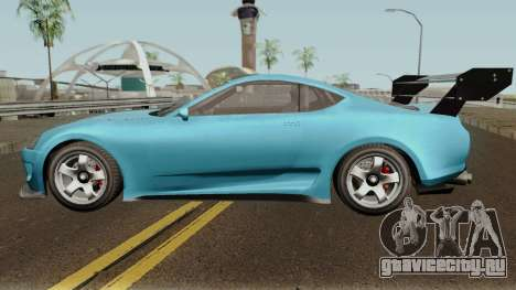 Dinka Jester Classic or F&F GTA V для GTA San Andreas вид слева