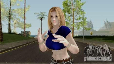 Tina Armstrong (Casual Long Hair) From DOA5LR для GTA San Andreas
