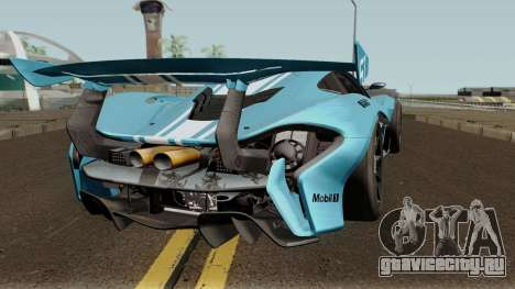 Mclaren P1 GTR 2016 для GTA San Andreas вид справа