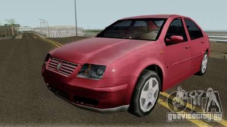 Volkswagen Jetta Clasico (SA Style) для GTA San Andreas