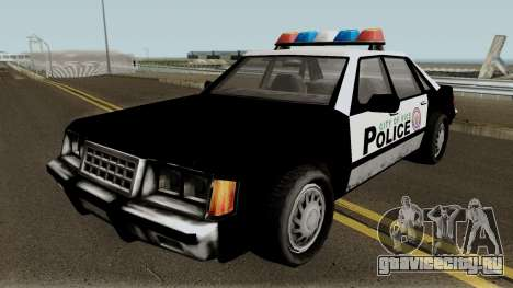 New Police VCPD для GTA San Andreas