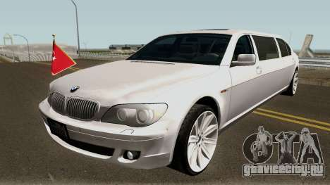 BMW 760Li E66 W12 Limousine для GTA San Andreas