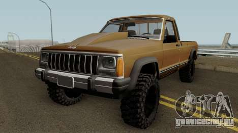 Jeep Comanche HQ для GTA San Andreas