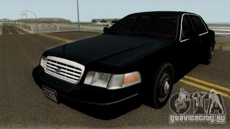 Ford Crown Victoria FBI 2003 для GTA San Andreas