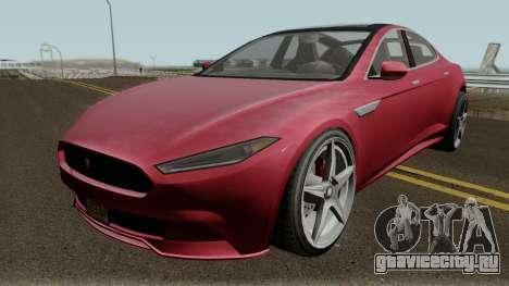 Coil Raiden GTA V IVF для GTA San Andreas