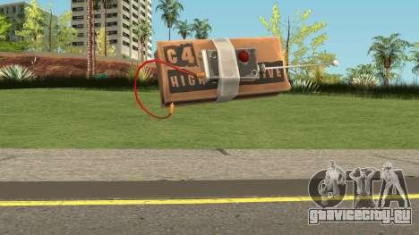 C4 from Fortnite для GTA San Andreas