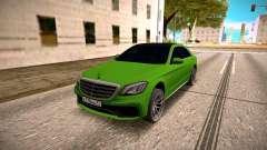 Mercedes-Benz S63 AMG Green для GTA San Andreas