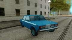 ВАЗ 2107 Синий седан для GTA San Andreas