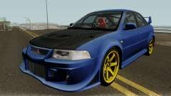Mitsubishi Evolution VI Edited для GTA San Andreas