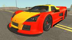 Gumpert Apollo 2M-Designs для GTA San Andreas