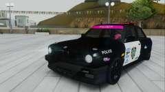 BMW E30 Police для GTA San Andreas