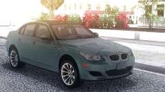 BMW M5 E60 Grey для GTA San Andreas