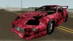 Toyota Supra Ahegao для GTA San Andreas