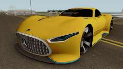 Mercedes Benz AMG Vision GT для GTA San Andreas