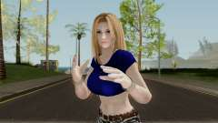 Tina Armstrong (Casual Long Hair) From DOA5LR для GTA San Andreas