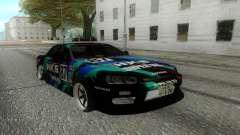 Nissan Skyline ER 34 для GTA San Andreas