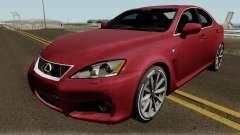 Lexus IS-F 2013 для GTA San Andreas