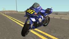 Yamaha YZF M1 2018 для GTA San Andreas