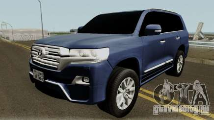 Toyota Land Cruiser VXR 2017 для GTA San Andreas